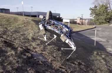 engineering careers  New Dog Robot Can Run and Climb Just Like The Real Thing