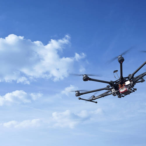 Hydrogen Powered Drone sets World Record