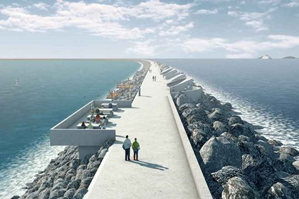 Plans unveiled to build the UK's first tidal power lagoon