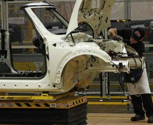 UK manufacturing growth at seven-month high