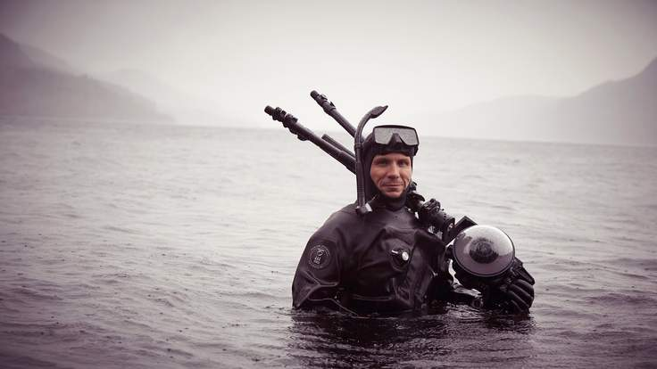 Google uses Street View to search for the Lock Ness Monster