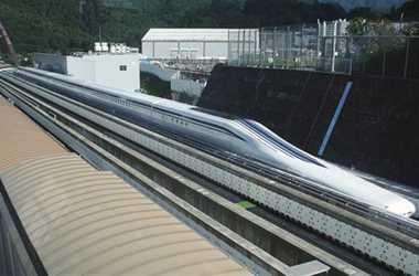 engineering careers  Japanese train breaks speed record
