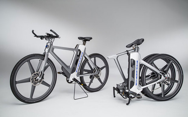 Ford unveils 'no-sweat' electronic bike