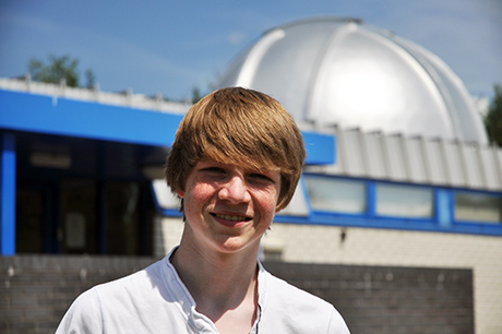 Student who discovered planet whilst on work experience hopes to become physicist
