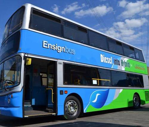 Hybrid powered buses due to hit London streets
