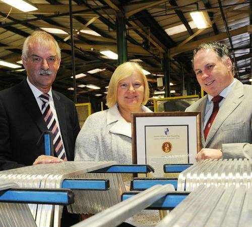 Manufacturing expert recognized with award