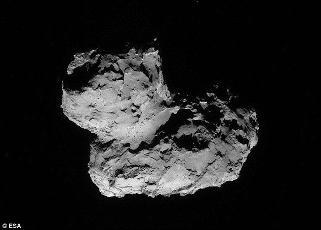 Rosetta's 'rubber duck' comet was once two objects