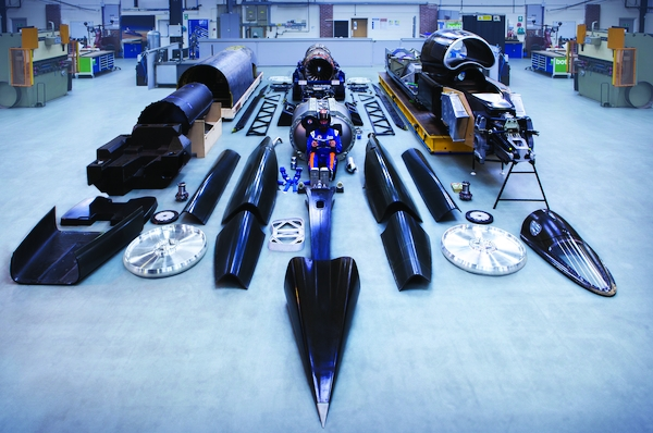 The Bloodhound, Britain's 1,000mph car, debuts in London