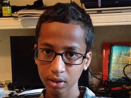 Outrage in America as Muslim boy falsely arrested for making clock and bringing it into school
