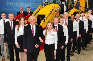 engineering careers  70th year of JCB marked by limited edition machine