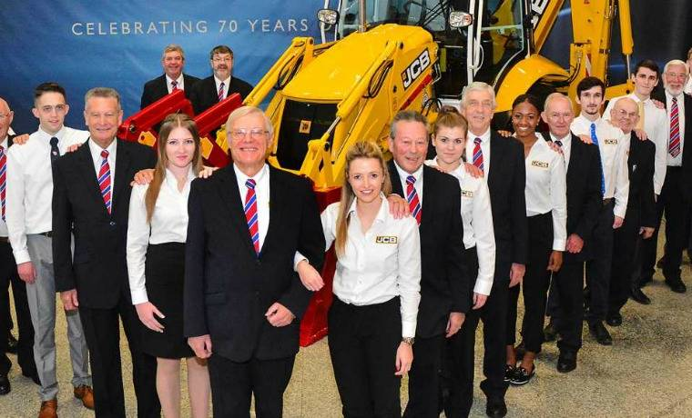 70th year of JCB marked by limited edition machine