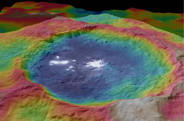 NASA discovers mysterious spots on dwarf planet Ceres