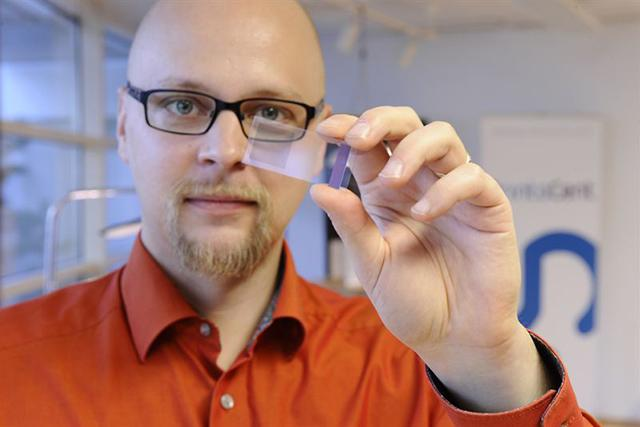 New technology can be integrated into an eyeglass lens