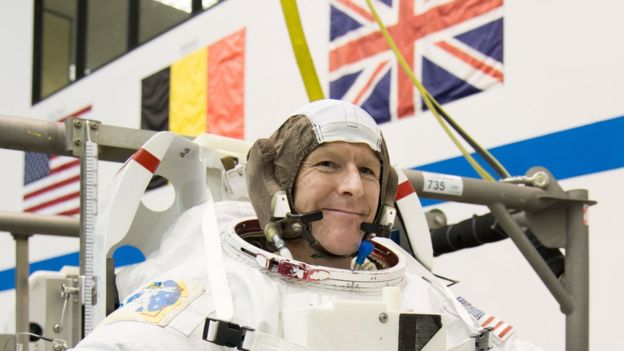 British astronaut ready for liftoff