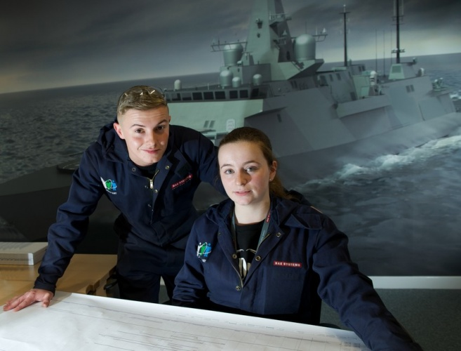 BAE Systems makes history with graduate intake