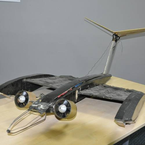 Successful tests for 'bat wing' Micro Air Vehicles