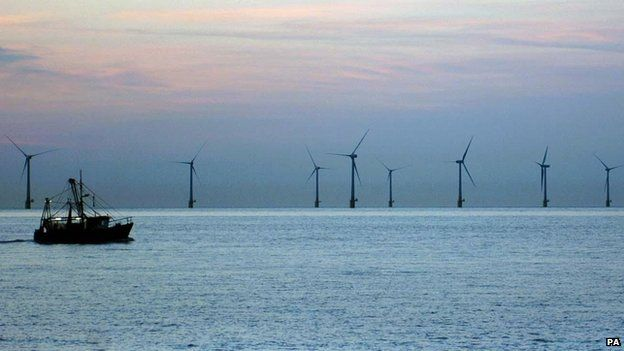 Up to 3,000 jobs to be created by £2.5bn East Anglia One wind farm