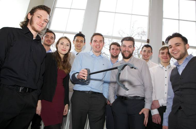 Portsmouth apprentices win competition to design 'grabber' for injured soldiers