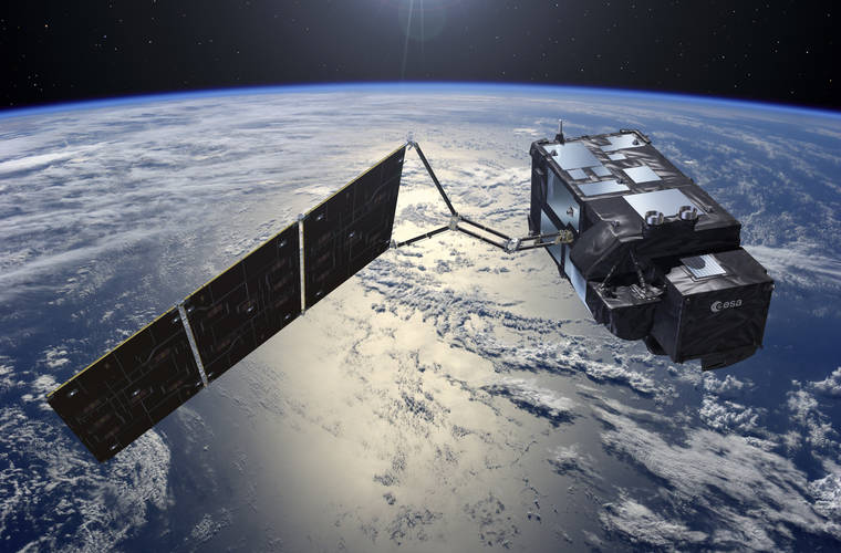 EU's 'Sentinel' climate and ocean-monitoring satellite launches
