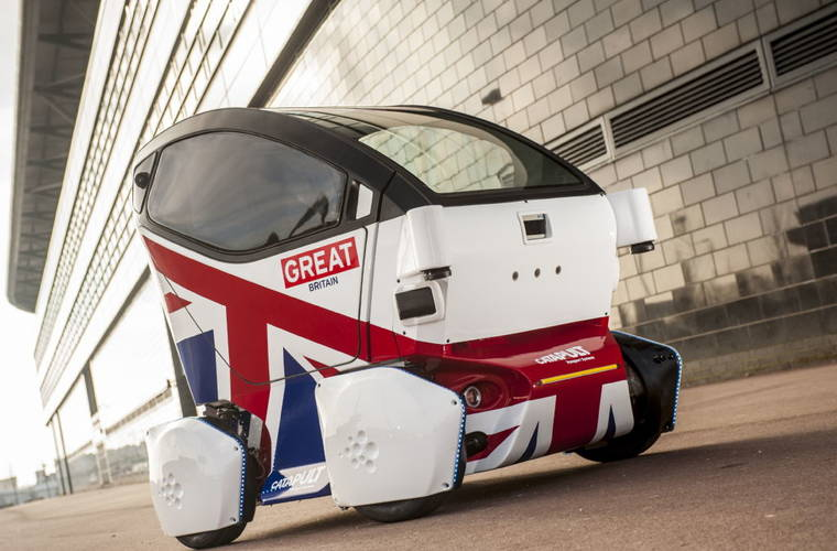 Driverless pods to be tested in scanned simulation of Coventry