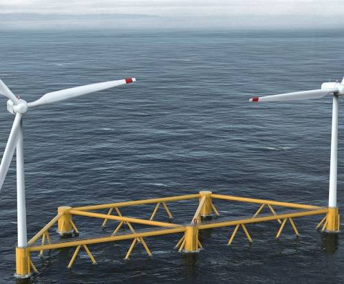 Designs announced for first ever multi-turbine floating offshore wind platform