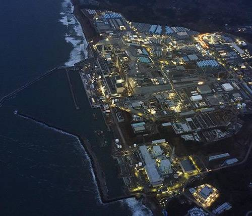 Japanese government builds giant ice wall to surround Fukushima nuclear plant