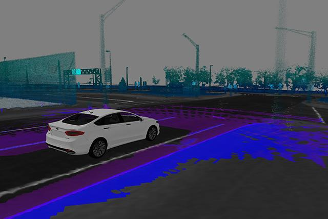 Ford installs laser sensors in its driverless cars