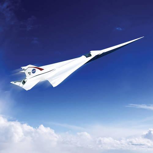 NASA unveil design for supersonic passenger jet