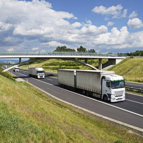 Platoons of driverless lorries to be tested on British motorways