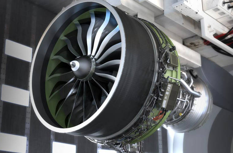 First test for world's largest jet engine