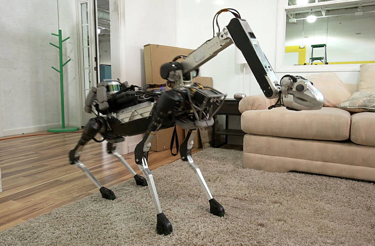 Boston Dynamics introduces SpotMini