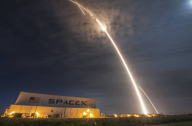 SpaceX celebrate second successful landing on solid ground