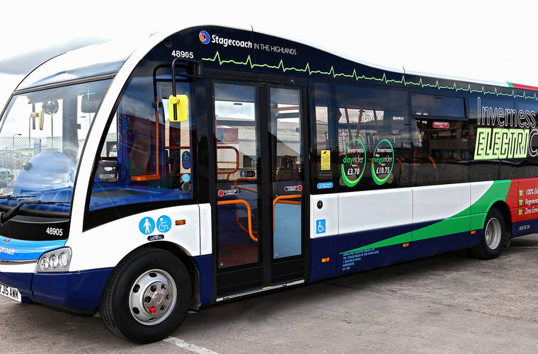 Stagecoach EV Buses can now run longer between charges
