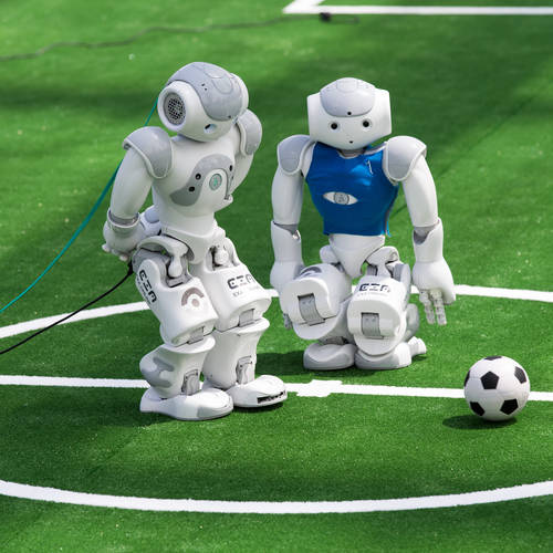 Robot World Cup sees Germany win on penalties