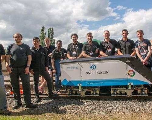 SNC-Lavalin winners of 2016 IMechE Railway Challenge