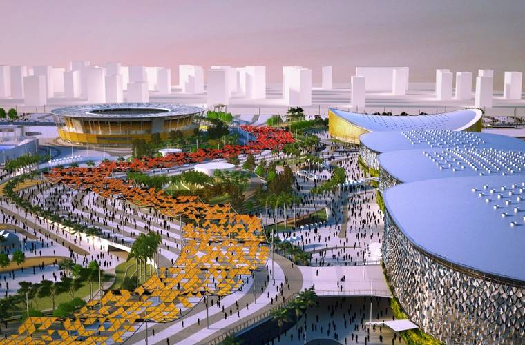 #EngineeringTheOlympics: AECOM's Olympic Park Masterplan