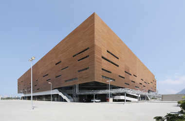 engineering careers  #EngineeringTheOlympics: Handball arena by AND Architects