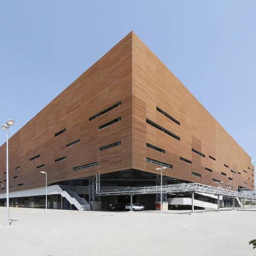 #EngineeringTheOlympics: Handball arena by AND Architects