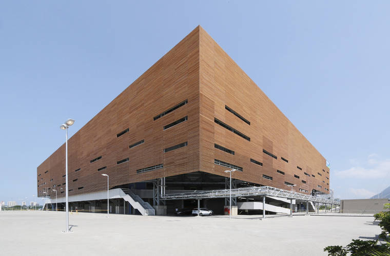 #EngineeringTheOlympics: Handball arena by AND Architects