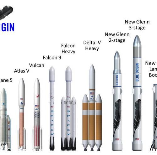 Blue Origin Reveal New Glenn booster