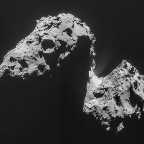 Complex Organic Molecules Found on Rosetta's Comet