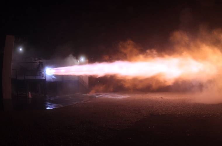 Elon Musk unveils the rocket engine he says will take humanity to Mars