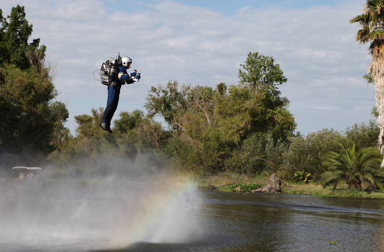 Want to become the World's First Civilian Jetpack Pilot?