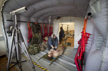 engineering careers  Army Medics use VR 'Chinook' to help save lives on the battlefield