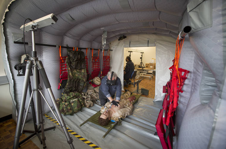 Army Medics use VR 'Chinook' to help save lives on the battlefield