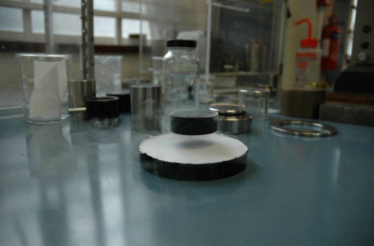 Guinness confirm World Record for Strongest magnetic field trapped in a superconductor