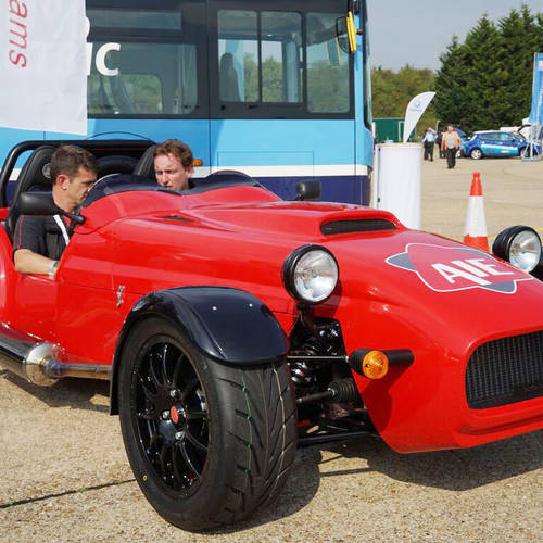 Meet the British Sports Car Powered by a Single Rotor Rotary Engine