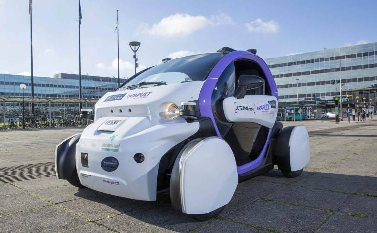 First British trial of Self-Driving Vehicle a success