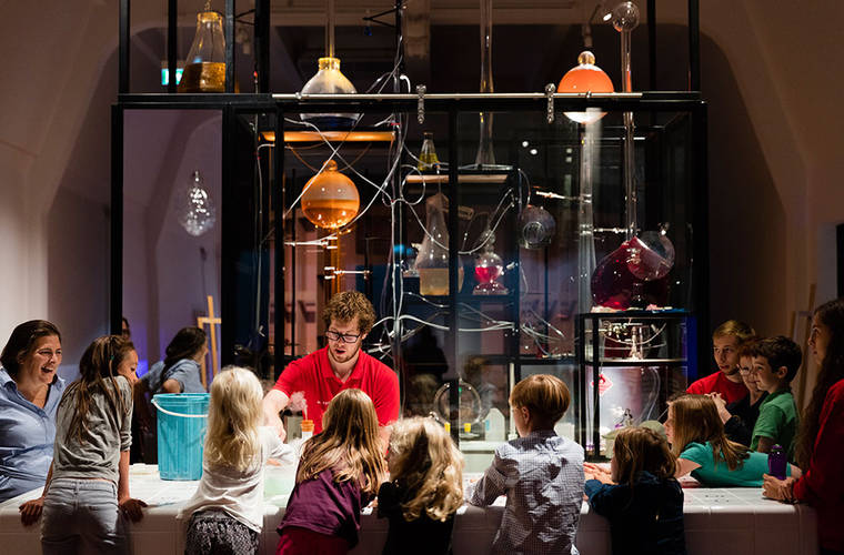 """Wonderlab"" interactive gallery launches at London's Science Museum"