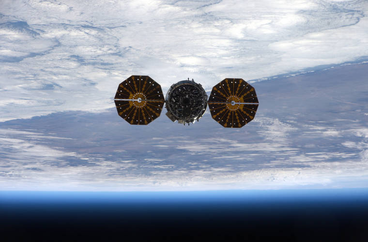 #CubeSat CubeSat lifespans double as NanoRack repurposes ISS supply vehicle as launch platform